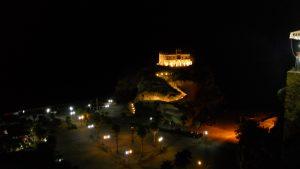 Vista notturna di Tropea