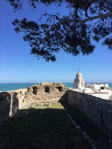 Tratto di mura del Castello Svevo