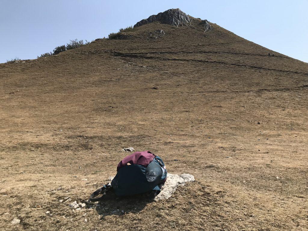 Verso la croce del Monte Strega